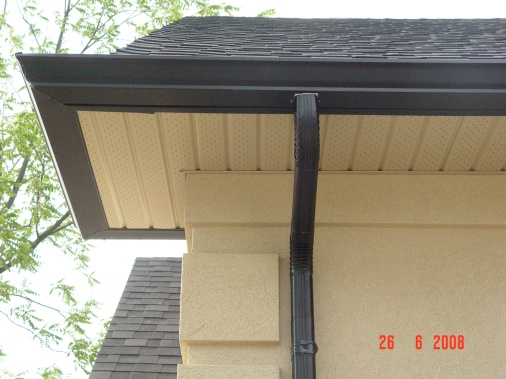 5 inch eaves with 3x3 down -pipe