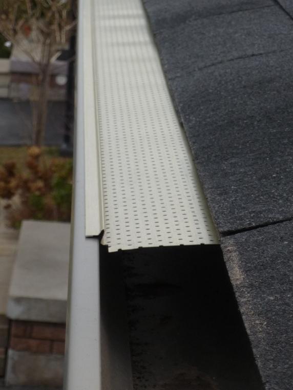 Aluminum gutter-guard